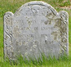 Hopestill Bent's tombstone