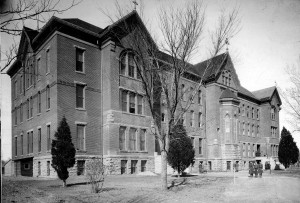Immaculate Conception  Academy as it appeared about 1910.