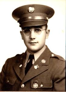 Edward Kline in 1941, age 27.