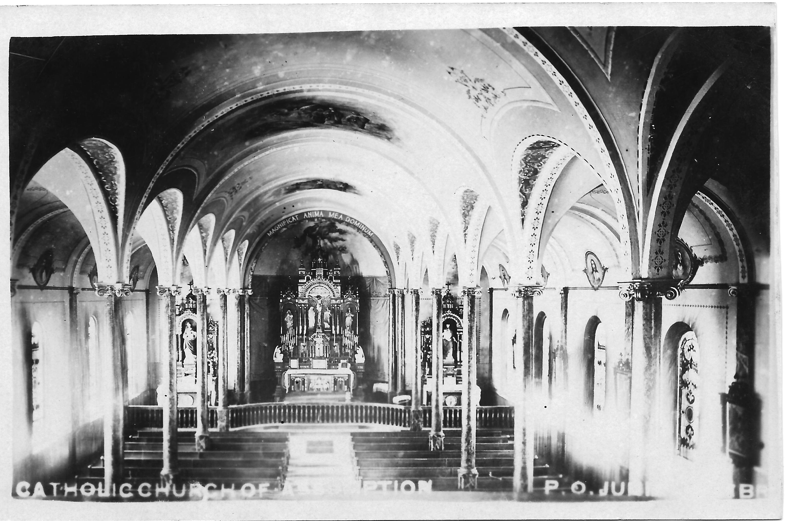 Church Interior 1910