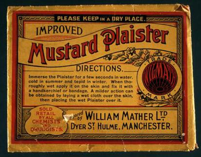 Mustard plaster