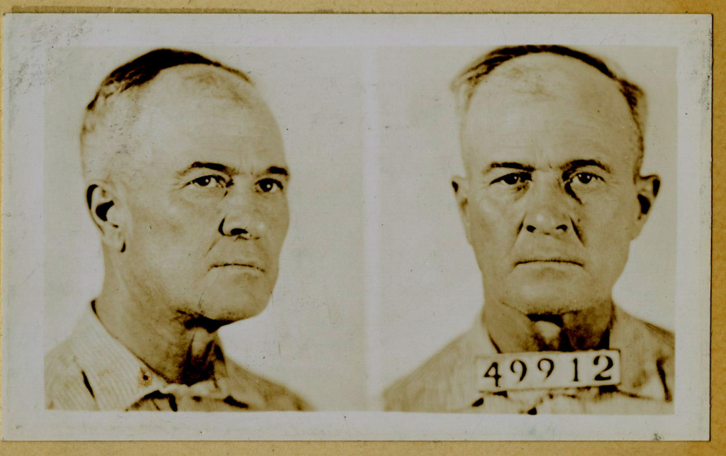 Harley's mug shot taken November 13, 1936.