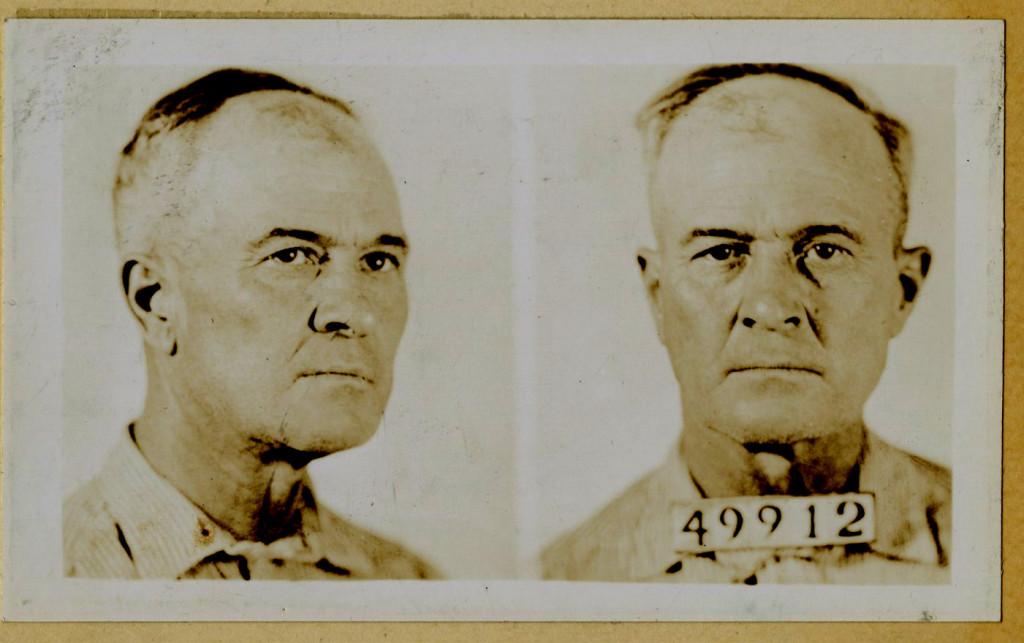 Harley's mug shot taken November 13, 1936.