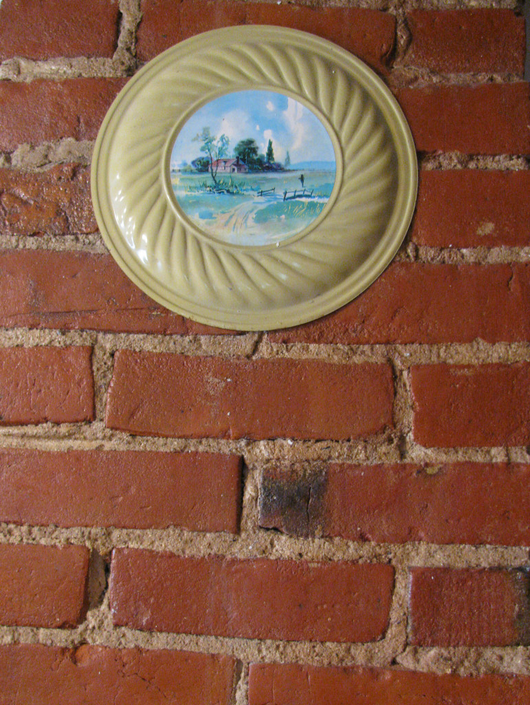 One of my Mother's flue covers on a chimney in the upstairs.