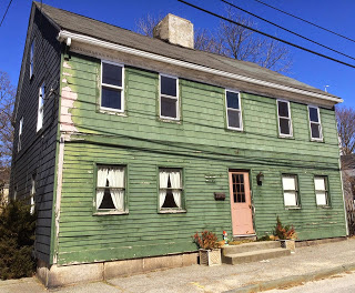 The Warren Rhode Island Preservation  Society states this house was built by Ebenezer Cole in the 1740s.