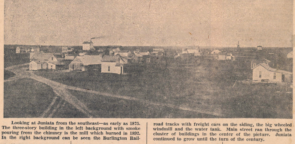 Clipping from the Hastings Daily Tribune March 1, 1954.  I attempted to locate the original photo but was unsuccessful.