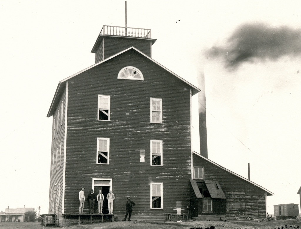 Juniata Mill as it appeared about 1891.  Photo by E.C. Sears of Juniata.