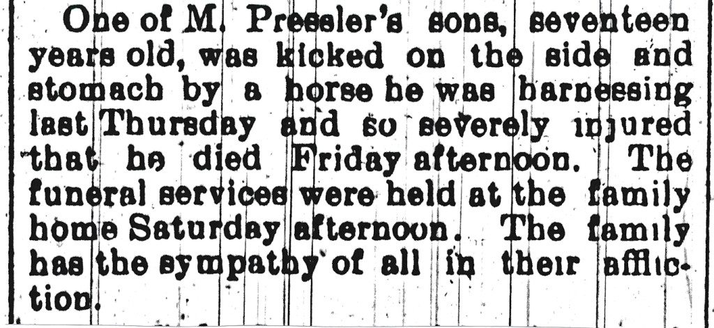 Hastings Tribune May 18, 1900