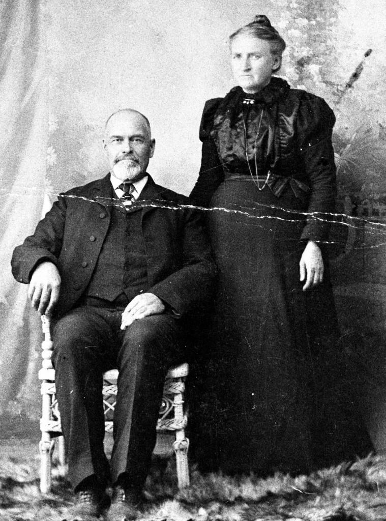 Hiram H. and Mariah (Phillips) Kimball late 1890s.