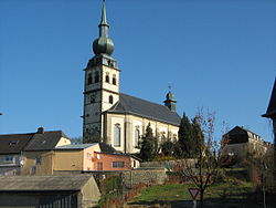 Saint Remigius Church,   Koerich, Luxembourg