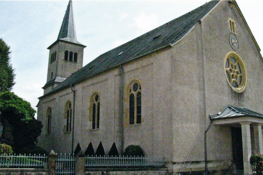 Saint Antoine Church Hagen, Luxembourg